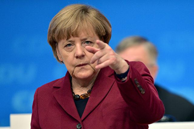 Angela Merkel Foto: Thomas Lohnes/Getty Images