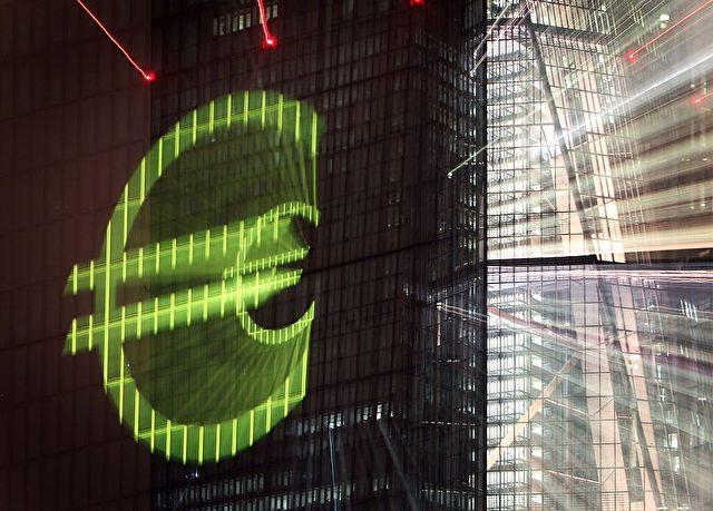 EZB-Gebäude in Frankfurt am Main Foto: DANIEL ROLAND/AFP/Getty Images)