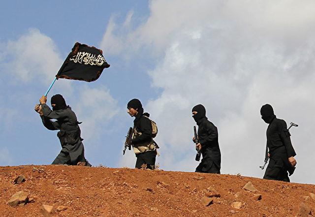Islamisten in Syrien. Foto: MAHMOUD TAHA/AFP/Getty Images