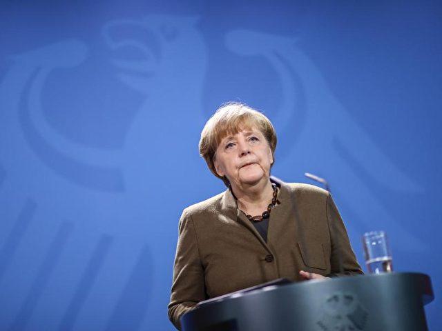 Bundeskanzlerin Angela Merkel gibt ein Statement zum Fall Anis Amri. Foto: Michael Kappeler/dpa