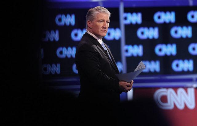 CNN-Moderator (Symbolbild) Foto: John Moore/Getty Images
