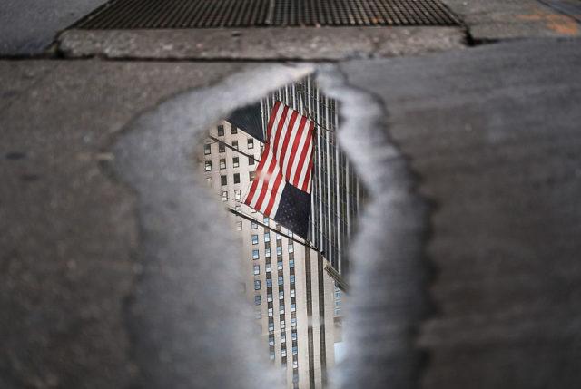 US-Flagge Foto: Spencer Platt/Getty Images