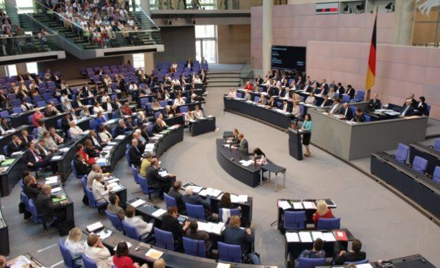 Bundestagssitzung im Plenarsaal des Reichstags Foto: über dts Nachrichtenagentur