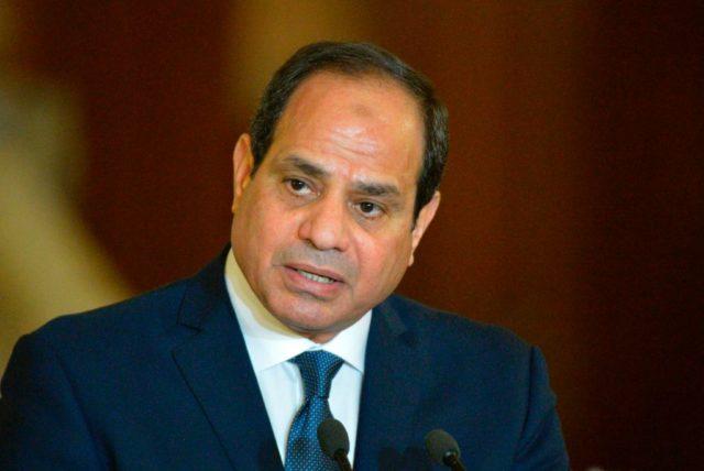 Der ägyptische Präsident Abdel Fattah al-Sisi. Foto: KHALED DESOUKI/AFP/Getty Images