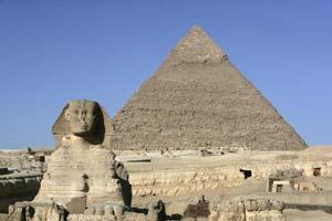 Сфинкс и Великая пирамида. Фото: Getty Images News