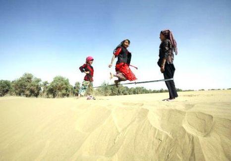 Загадочное племя Керия. Фото: China Photos/Getty Images