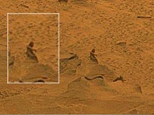 Фрагмент фотографии поверхности Марса, опубликованной NASA. Фото: Cornell University/NASA/JPL-Caltech