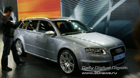 Стенд Audi. Бешеный