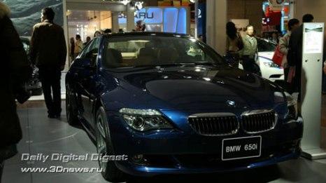 Стенд баварской компании BMW. Мрачное купе 650i. Фото: 3dnews.ru