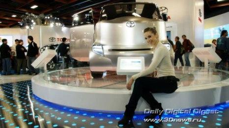 Стенд компании Toyota. Hi-CT. Фото: 3dnews.ru