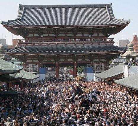 Самый древний в Пекине храм Цьенцао (Asakusa Kannon Temple). Фото: Koichi Kamoshida/Getty Images