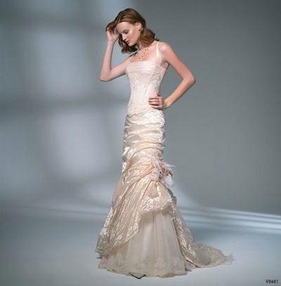 Сказочная мечта невесты. Фото с efu.com.cn