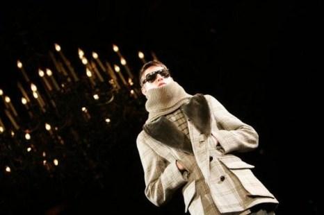 Мужская коллекция от Ив Сен Лоранa. Фото: Getty Images