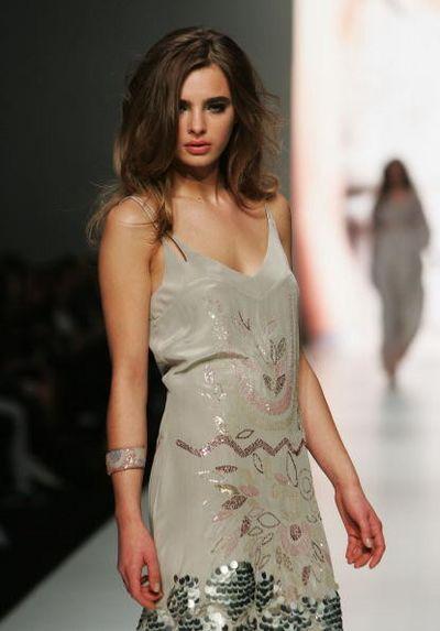 Коллекция одежды от дизайнера Verduci-Smith. Фото: Gaye Gerard/Getty Images