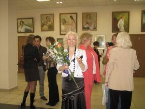 5 июля в Москве прошла выставка Аиды Лисенковой-Ханемайер, посвященная портрету. Фото: Великая Эпоха