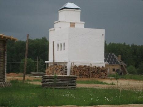Самая большая печка в мире 11 метров высотой. Фото: Светана Ким/Великая Эпоха