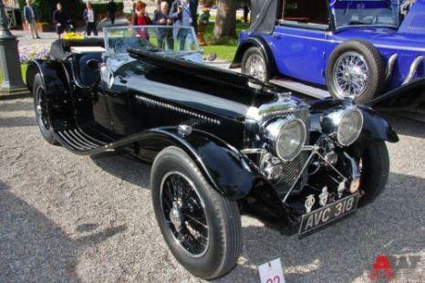 SS Cars Ltd. SS90 Open 2-seater (1935). Фото: autoweek.ru