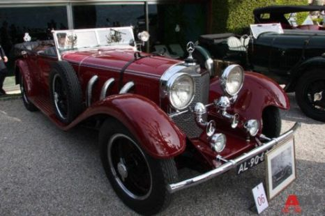 Mercedes-Benz 680 S Open tourer Erdmann & Rossi (1928). Фото: autoweek.ru