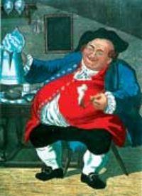 Легендарный выпивоха Тоби Филлпот.