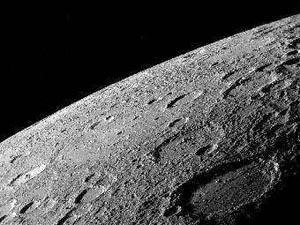 Поверхность Меркурия, вид с аппарата