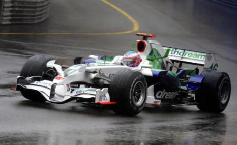 Пилот команды «Макларен» Льюис Хэмилтон стал победителем «Гран-при Монако». Фото: BERTRAND GUAY/AFP/Getty Images