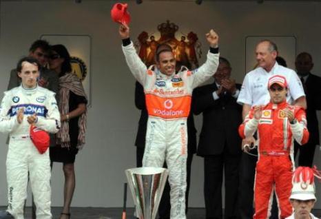 Пилот команды «Макларен» Льюис Хэмилтон стал победителем «Гран-при Монако». Фото:  PASCAL GUYOT/AFP/Getty Images