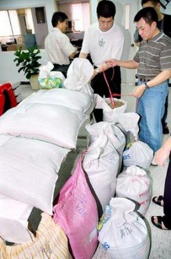 В корм для животных в Китае добавляют меламин. Фото: The Libertytimes