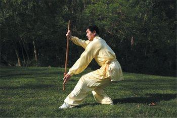 Мастер боевых искусств Ли Юфу. Фото: Линь Фэнмин/The Epoch Times