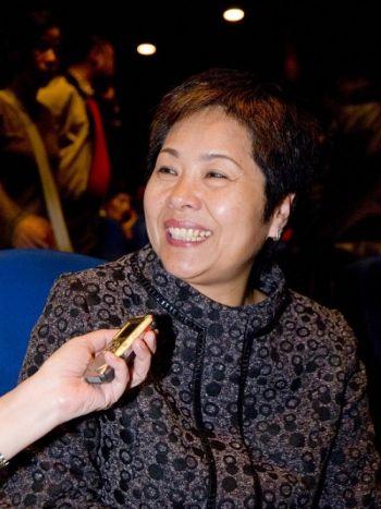 Г-жа Хун Лина, член законодательного совета округа Чанхуа. Фото: Тан Бинь/Великая Эпоха