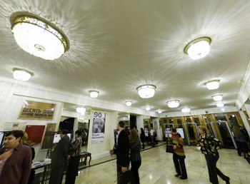 Фойе Театра на Таганке. Фото с taganka.theatre.ru