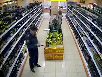 На юге столицы пьяный милиционер устроил стрельбу в супермаркете. Фото: Вести.Ru