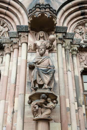 Страсбург. Кафедральный собор Нотр-Дам. Фото: Лора ЛАРСИА/Великая Эпоха