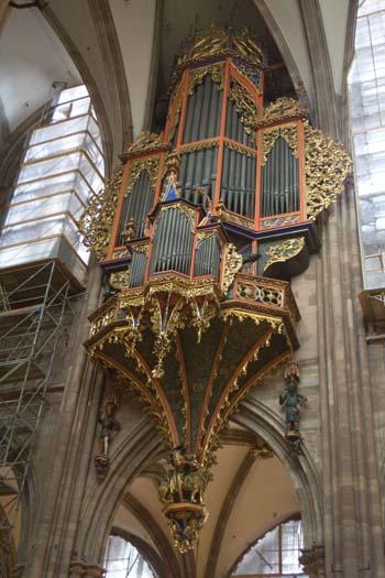 Страсбург. Кафедральный собор Нотр-Дам.Орган. Фото: Лора ЛАРСИА/Великая Эпоха