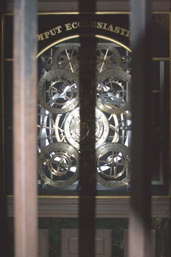 Страсбург. Нотр-Дам. Часовой механизм астрономических часов. Фото: Лора ЛАРСИА/Великая Эпоха