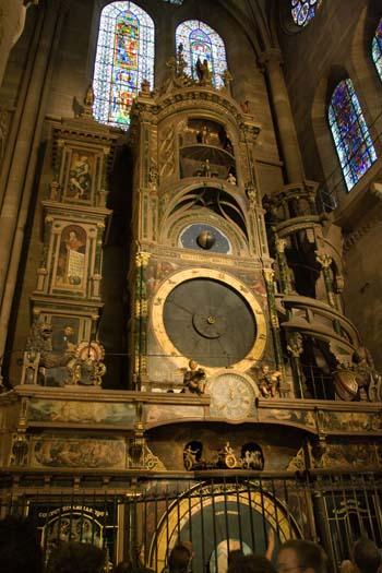 Страсбург. Нотр-Дам. Астрономические часы. Фото: Лора ЛАРСИА/Великая Эпоха