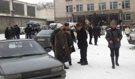 Казаки в Георгиевске празднуют 23 февраля. Фото: Великая Эпоха