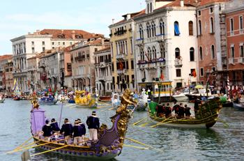 Venice Historical Regatta. Фото: Vittorio Zunino Celotto /Getty Images