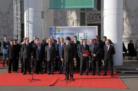 Магомет Мусаев (в центре). Фото автора