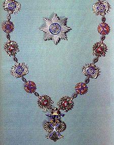 Орден Святого апостола Андрея Первозванного. Фото: ru.wikipedia.org