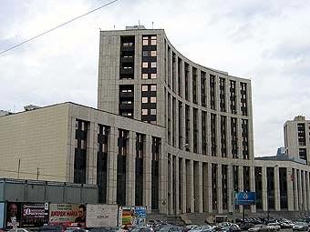 Здание Внешэкономбанка. Фото пользователя S1 с сайта wikipedia.org