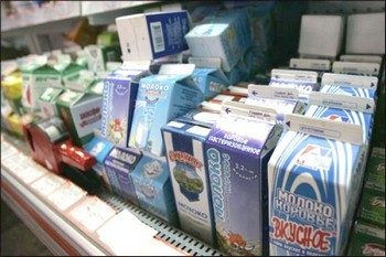 Очередная молочная война России, теперь уже с Литвой. Фото с mygazeta.com