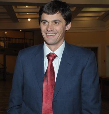 Четырехкратный олимпийский чемпион председатель РФСО «Локомотив» А. Попов