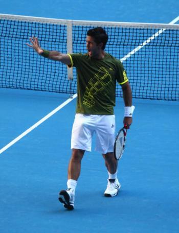 На Открытом чемпионате Австралии по теннису завершились последние матчи 1/8 финала в мужском одиночном разряде. Фото: Mark Kolbe/Getty Images