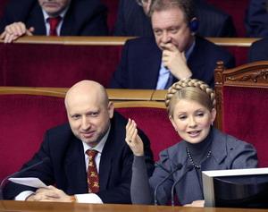Украина требует от России предоставить технический газ в объеме около 21 млн. куб. м в сутки для обеспечения транзита около 300 млн. куб. м российского природного газа в Европу, заявила премьер Юлия Тимошенко. Фото: GENIA SAVILOV/AFP/Getty Images