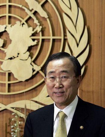 Генеральный секретарь ООН Пан Ги Мун. Фото:STAN HONDA/AFP/Getty Images