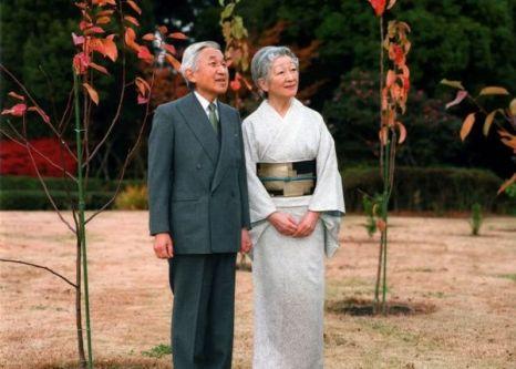Фото: Император Акихито и императрица Митико. Фото: AFP