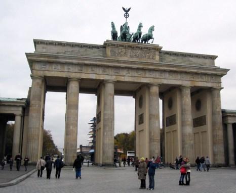 Бранденбургские ворота (нем. Brandenburger Tor). Фото: Ирина Лаврентьева/Великая Эпоха