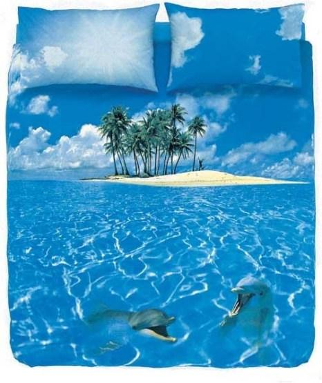 Кровать с чудо-пейзажем. Фото с secretchina.com