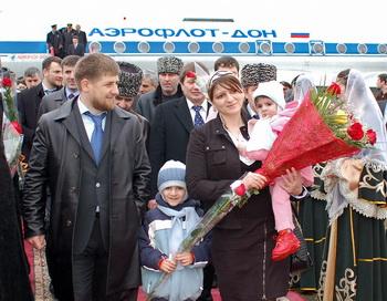 В Чечне начал функционировать международный аэропорт. Фото: ДМИТРИЙ NIKOFOROV / AFP / Getty Images