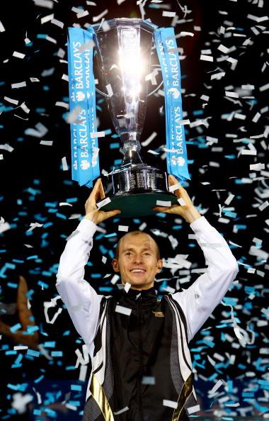 Николай Давыденко выиграл итоговый турнир года. Фото: Julian Finney/Getty Images